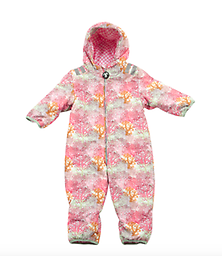 Ducksday Baby Ski Suit (Milsyl) One-piece ski suits for babies and toddlers on the move!