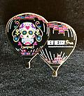 New True-Lee Pin for 2017 - Collectible Hot Air Balloon Pin featuring the full view of this beautiful balloon.