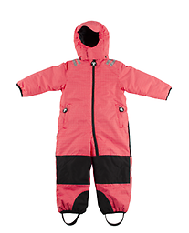 Ducksday Toddler/K Skisuit (Funky Red ) One-Piece Skisuits - windproof, waterproof, and breathable - for kids that like some serious snow fun! Keeps them warm up to -25° C*.