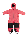 Ducksday Toddler/K Skisuit (Funky Red ) - One-Piece Skisuits - windproof, waterproof, and breathable.