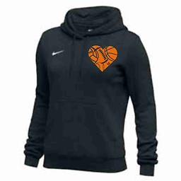 Nike Women's Club Fleece Hoody SE Nike Women's Club Fleece Hoody with left chest logo.