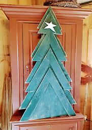 Christmas Tree Wood Christmas tree 53 inches high x 29 1/2 wide. shipping not available.
