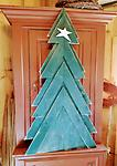 Christmas Tree - Wood Christmas tree 53 inches high x 29 1/2 wide. shipping not available.
