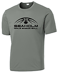 PERFORMANCE SHORT SLEEVE T-SHIRT - Performance t-shirt with screen-printed Seaholm Girls Basketball logo.