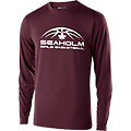 SOFT BLEND LONG SLEEVE T-SHIRT - Soft blend long-sleeve t-shirt with screen printed Seaholm Girls Basketball logo.