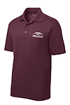 EMBROIDERED UNISEX POLO SHIRT - High-quality unisex polo shirt with embroidered Seaholm Girls Basketball logo.