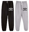 "NUBLEND SWEAT PANTS WITH POCKETS - NuBlend sweat pant with pockets and elastic cuffs with screen-printed ""Seaholm Girls Basketball"""