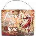 """Autumn Fairy"" Metal plaque by Anne Stokes - Metal"