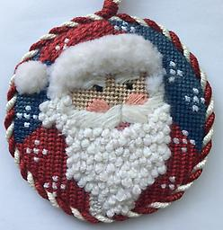 November 2017 Ornament Exclusive Diversions Needlepoint hand painted canvas, threads and stitch guide by Mary Lou Kidder. SHIPPING INCLUDED!
