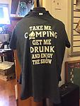Take Me Camping Tee or Hoodie - Take Me Camping and Watch the Show Tee
