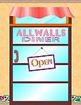 ALLWALLS Diner & Drive-Thru Restaurant - Diner & Drive-Thru Restaurant has two strips of 8 panels each for a total of 16 panels.