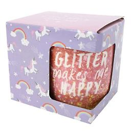 """ Glitter Makes Me Happy!"" Mug @ The Mystics Touch Who doesn't like glitter!"