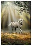 """Anne Stokes """"Elements"""" Incense Designer Fragrance - """" Glimpse of a Unicorn"""" @ The Mystics Touch - """" Through misty coppice the unicorn walks, a Sandalwood fragrance announces his approach and lays the mind at ease."""" 20 sticks"""