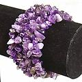 Genuine Amethyst Bracelet @ The Mystics Touch - One size fits most