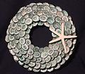 Xx-Small Limpet Shell Wreath - Southern Carriben Green Limpet Shell