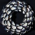 Small Infinity Mussel Shell Wreath - Hand picked Mussel Shells