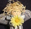 Blonde Angel Ornament - Carefully crafted from both local and carribean shells