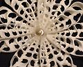 White Lace Ornament - Carefully crafted from both local and carribean shells