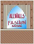 ALLWALLS Fashion Boutique - ALLWALLS Fashion Boutique has two strips of 8 panels each for a total of 16 panels.