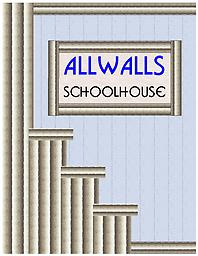 ALLWALLS Schoolhouse ALLWALLS Schoolhouse has two strips of 8 panels each for a total of 16 panels.