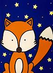 "Mr. Fox - 12 x 16"" Paint Pack *PICK-UP AT STUDIO. WE WILL EMAIL YOU TO ARRANGE PICK-UP ONCE ORDER IS RECEIVED."