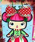 "LOL Christmas Doll - 8 x 10"" Paint Pack *PICK-UP AT STUDIO. WE WILL EMAIL YOU TO ARRANGE PICK-UP ONCE ORDER IS RECEIVED."