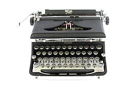 Royal DeLuxe (Black Matte) Collectible Portable Typewriter ON SALE NOW!