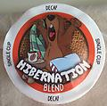 Hibernation Blend-Phil Cup - When it's time to hibernate but you still want more coffee, A decaffeinated, full bodied blend of lightly roasted beans from Colombia, Central America, and Brazil producing a mild coffee