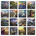 "Thomas Kinkade Disney Gallery Wrap - Pick your Favorite! - 14"" x 14"" Gallery Wrapped Canvas