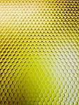 """Yellow Transparent Ctek 6""""x 6""""x .1/8"""" (1/8"""" cell) - Unique material made from an aircraft grade aluminum honeycomb mesh encased in a high impact epoxy resin."""