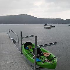 Kayak Rack / Sup Rack Pure Harbor Dock & Boat Kayak Rack / Sup Rack. Made out of Top Grade Aluminum with Rubber Grommets to Provide a Non-Scratch Surface for your Kayak & SUP's. Fits ALL, On or Off the Dock Applications!