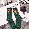 Emerald Green Party Socks! - These handmade party socks bring the party to you! We have found the perfect festive way to express yourself with these socks.