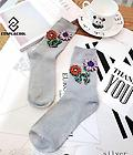 Dazzling Silver Party Socks! - These handmade party socks bring the party to you! We have found the perfect festive way to express yourself with these socks.