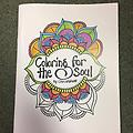 Coloring for the Soul Coloring Book - Christalene's larger collection of original henna and abstract illustrations, all hand drawn and unique. Be prepared to quiet your mind and stimulate your creativity. Relax and breathe!