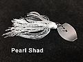 Stump Crusher Bladed Jig 075 - STYLE: Bladed Jig - - COLOR: Pearl Shad