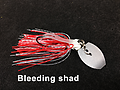 Stump Crusher Bladed Jig 077 - STYLE: Bladed Jig -- COLOR: Bleeding shad