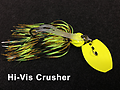 Stump Crusher Bladed Jig 078 - STYLE: Bladed Jig -- COLOR: Hi-Vis Crusher