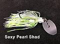 Stump Crusher Bladed Jig 082 - STYLE: Bladed Jig -- COLOR: Sexy Pearl Shad