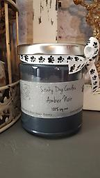 Amber Noir Blend of vanilla and amber with undertones of sandalwood and musk. Color: Black Size: 9 oz. jar. 100% SOY WAX
