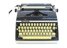 Adler J5 Collectible Portable Typewriter ON SALE NOW!