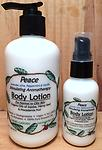 PEACE Stimulating Body Lotion-25% off - Aromatherapy Body Lotion for Normal to Oily Skin-Organic Oils of Jojoba, Hemp Seed & Macadamia Nut-Organic/Biodegradable/Vegan/No GMO's/ No Phthalates/100% Pure Essential Oils