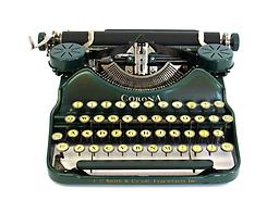 Corona Four (Green) Collectible Portable Typewriter ON SALE NOW!