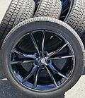 "20"" Charger / Challenger Blackout Rims & Tires - Set of factory new take off Dodge Charger / Challenger black gloss wheels and Goodyear tires. includes lugs"