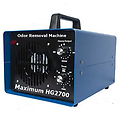 Maximum 2700 Odor Removal Machine Eliminator Ionizer - Maximum 2700 Professional Grade Ozone Generator UV Air Sanitizer and 3 Large Ceramic Ozone Plates 4000 mg