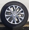 "Factory Ford F150 Chrome 20"" Rims & all terrain tires - Set of factory new take off 20"" rims & Hankook Dynapro ATM 275/55R20 tires. Includes TPMS!"