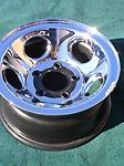 "15"" Dodge Van Rims Chrome Steel 1500 2500 3500 - New Takeoff Dodge Van 1500 2500 3500 15x7 5 lug wheels. Set of 4.