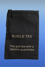 Bugle Tee Caddy Sack If you order 4 Bugle Tees or more we will send you a Caddy Sack for free!