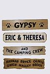 L-Extra or Add on Signs - Add on for family camping sign, great for adding family names or your pets names to additional signs, add now or get later. Use as a gift!
