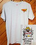 GGG Adult T-Shirt - 99% Pre Shrunk Cotton Adult T-Shirt- Light Grey