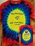 """This Place Rocks!"" Youth Tie-Dye T-Shirt - 100% Cotton Youth Tie-Dye T-Shirt"